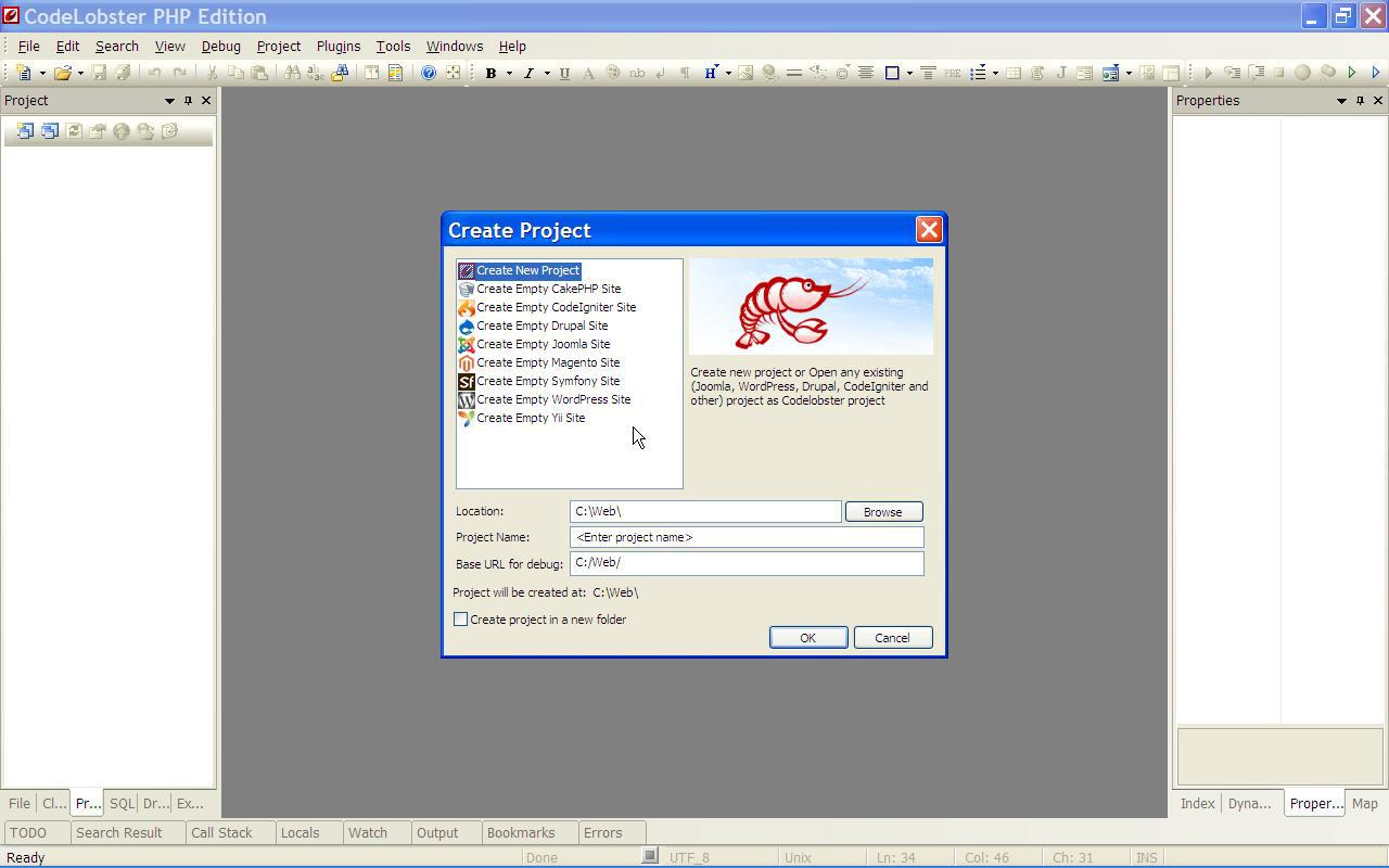 Free portable IDE for PHP/HTML/CSS/JavaScript development